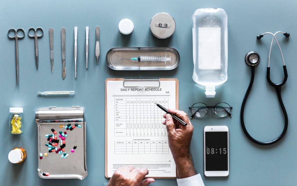 Recogida de datos en Farmacia
