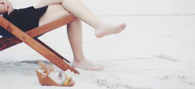 Arena Playa calzado