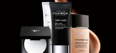 Productos principales de Filorga.