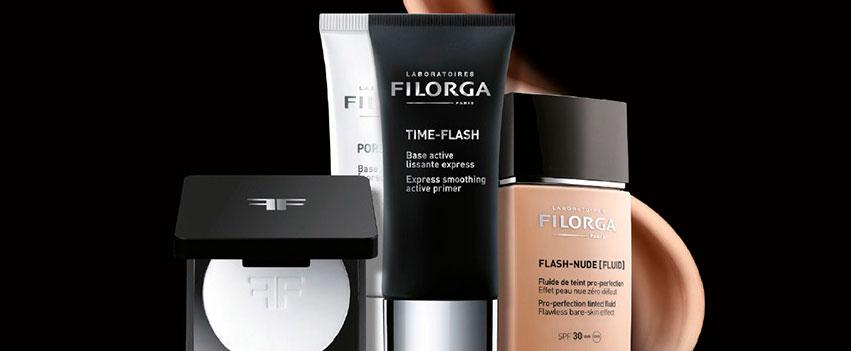 Serie de productos de Filorga.